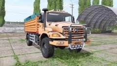 Mercedes-Benz Zetros 1833 A 2008 for Farming Simulator 2017