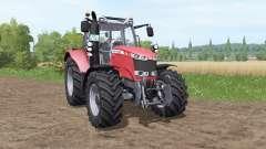 Massey Ferguson 6613 v1.1 for Farming Simulator 2017
