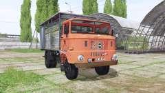 IFA W50 L cattle transport for Farming Simulator 2017