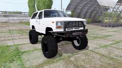 Ford Bronco XLT (U150) 1981 for Farming Simulator 2017