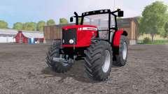 Massey Ferguson 6480 front loader for Farming Simulator 2015