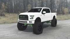 Ford F-150 SuperCrew 2015 for MudRunner