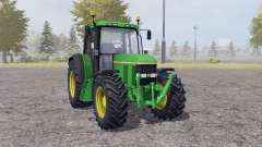 John Deere 6100 v2.1 for Farming Simulator 2013