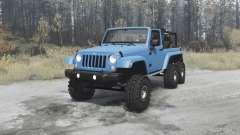 Jeep Wrangler (JK) 6x6 turbo for MudRunner