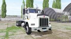 Kenworth T800 8x4 hooklift for Farming Simulator 2017
