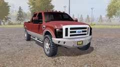 Ford F-250 Super Duty Crew Cab 2007 for Farming Simulator 2013