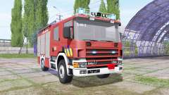 Scania 94D 260 autopompe belge for Farming Simulator 2017