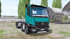Mercedes-Benz Arocs 2013 hooklift for Farming Simulator 2017