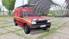 Renault Express Sapeurs-Pompiers for Farming Simulator 2017
