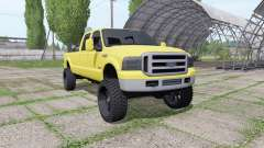 Ford F-350 Super Duty Crew Cab 2005 for Farming Simulator 2017