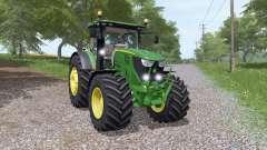 John Deere 6135R v3.3 for Farming Simulator 2017