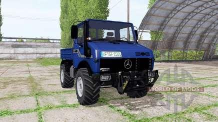 Mercedes-Benz Unimog U1200 v3.0 for Farming Simulator 2017