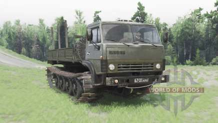 KamAZ 4310 crawler for Spin Tires