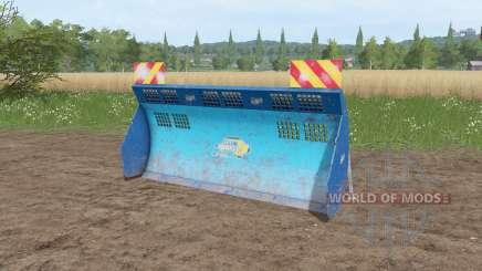 Aldo Annovi silage shield v1.1 for Farming Simulator 2017