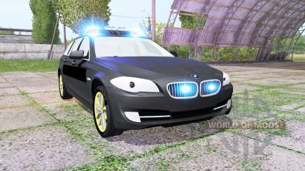 BMW 530d Touring (F11) undercover police for Farming Simulator 2017