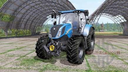 New Holland T6.160 v1.1.2 for Farming Simulator 2017