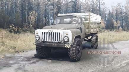 GAZ 53 4x4 for MudRunner