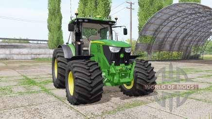 John Deere 6135R v2.6 for Farming Simulator 2017
