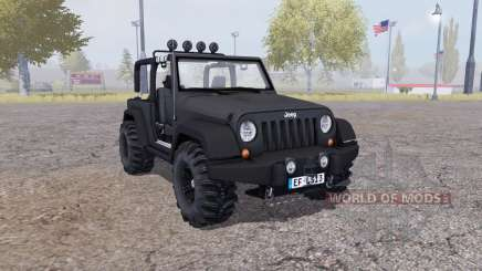 Jeep Wrangler (JK) v2.1 for Farming Simulator 2013