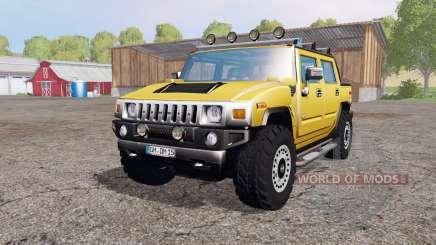 Hummer H2 SUT 2005 for Farming Simulator 2015