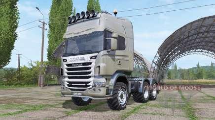 Scania R730 v1.0.3 for Farming Simulator 2017
