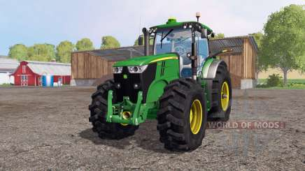 John Deere 7200R for Farming Simulator 2015