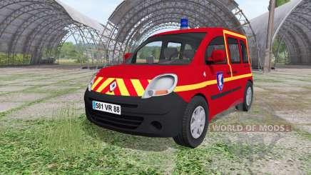 Renault Kangoo Sapeurs Pompier for Farming Simulator 2017