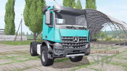 Mercedes-Benz Arocs 2043 2013 for Farming Simulator 2017