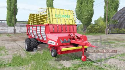 POTTINGER EUROBOSS 330 T twin tires v1.5 for Farming Simulator 2017