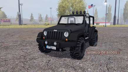 Jeep Wrangler (JK) v2.2 for Farming Simulator 2013