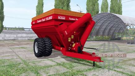 Jan Tanker Fast 19.000 for Farming Simulator 2017