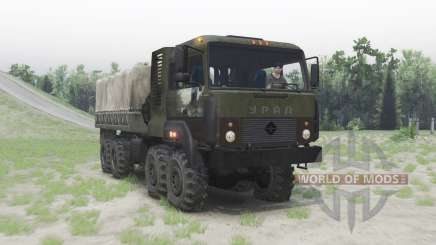 Ural 5323 green for Spin Tires