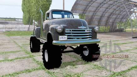 Chevrolet 3100 pickup (HP-3104) 1950 for Farming Simulator 2017