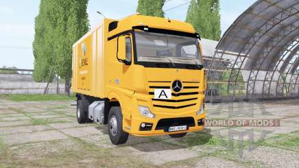 Mercedes-Benz Actros (MP4) garbage truck for Farming Simulator 2017