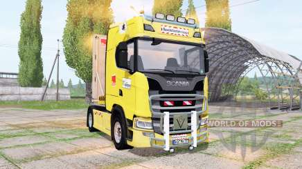 Scania S 580 V8 2017 for Farming Simulator 2017