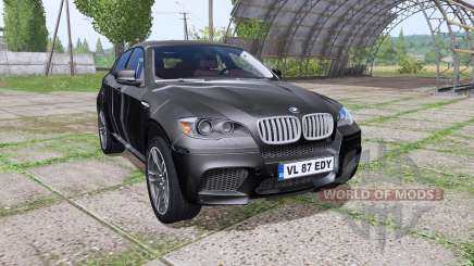 BMW X6 M (E71) Black Spike for Farming Simulator 2017