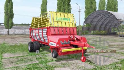 POTTINGER EUROBOSS 330 T twin tires for Farming Simulator 2017