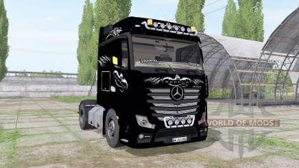 Mercedes-Benz Actros LS (MP4) 2011 for Farming Simulator 2017