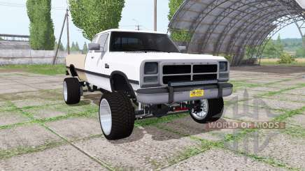 Dodge Ram D250 Club Cab 1991 for Farming Simulator 2017