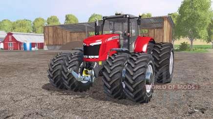 Massey Ferguson 7622 v2.6 for Farming Simulator 2015