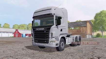 Scania R730 Topline cab for Farming Simulator 2015