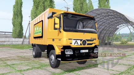 Mercedes-Benz Actros 1836 (MP2) garbage truck for Farming Simulator 2017