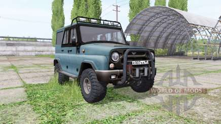 UAZ 315195 hunter v1.1 for Farming Simulator 2017