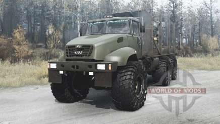 The KrAZ B18.1X 2011 for MudRunner