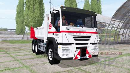 Iveco Stralis dump truck for Farming Simulator 2017