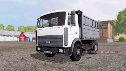MAZ 5551А2-4327 for Farming Simulator 2015