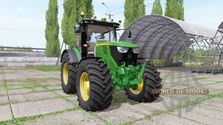 John Deere 6195R v2.1.2 for Farming Simulator 2017