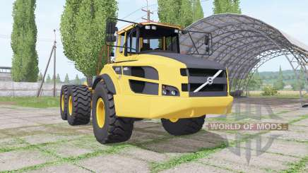 Volvo A40G truck tractor for Farming Simulator 2017