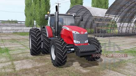 Massey Ferguson 8690 v1.1 for Farming Simulator 2017