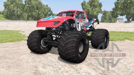 CRD Monster Truck v1.14 for BeamNG Drive